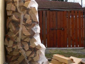 Akátové palivové dřevo